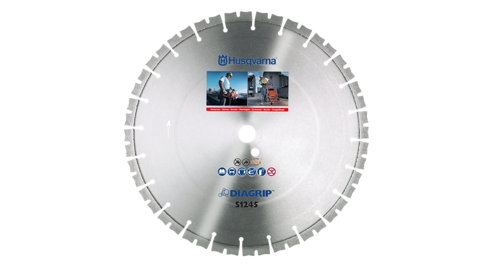 Disc diamantat S1245 300-20 25.4 40x2.8x10